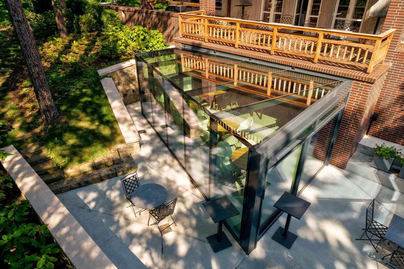 La Villa Zlín DRONE AERIAL